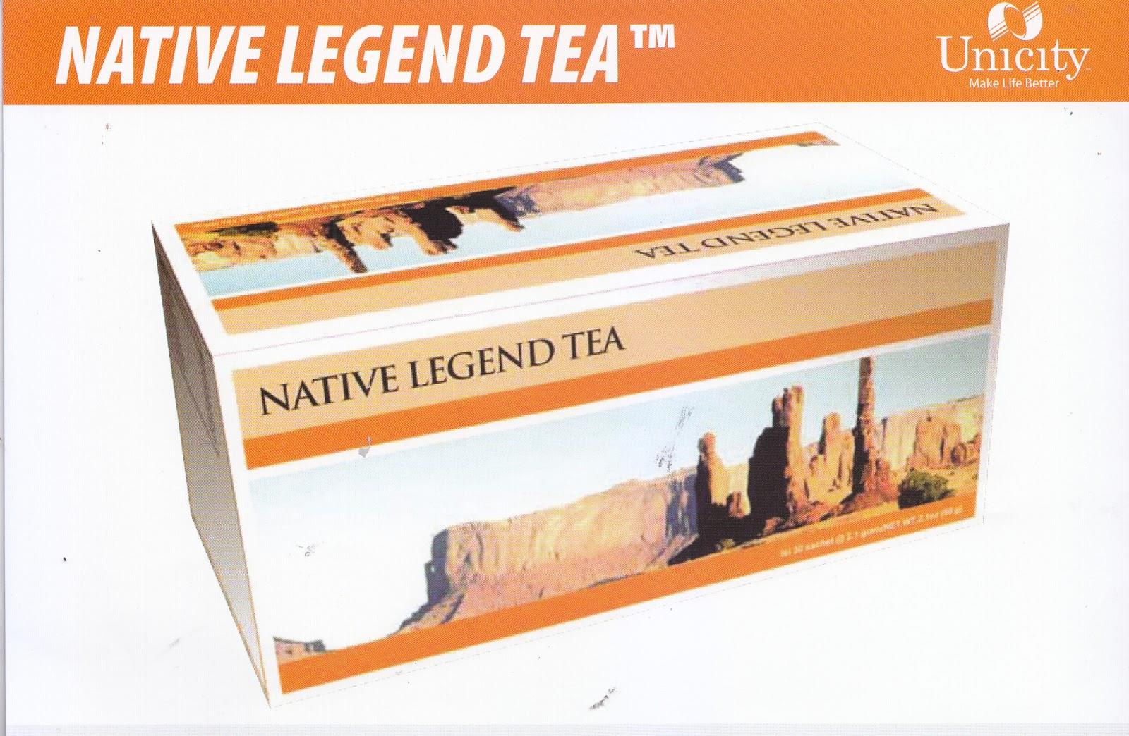 Native Legend Tea Unicity TRÀ THẢI ĐỘC GAN
