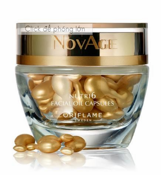 NovAge Nutri6 Facial Oil Capsules