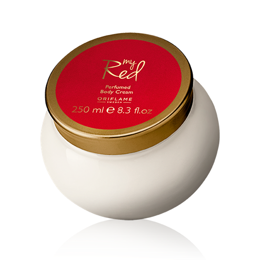 31723 oriflame – Kem dưỡng thể My Red Perfumed Body Cream